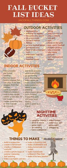 Fall Bucket List Ideas and Printable Have fun with your family this fall with these fall activities! Use these indoor and outdoor fall activity ideas to create your family fall bucket list! Fall Bucket List Ideas and Printable Herbst Bucket List, Bobbing For Apples, Fun Fall Activities, Indoor Activities, Family Activities, Fall Festival Activities, List Of Activities, Indoor Games, Fall Family
