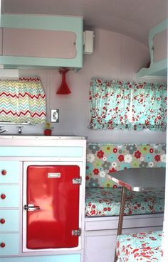 vintage camping fabric - Google Search