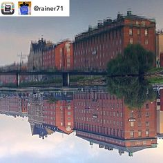 #Repost: 3000 pics on Instagram- my personal favourites: Upside down in Malmö Sweden