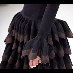 Azzedine Alaia Fall 2012 via Christine Barberich via Sofia Guellaty