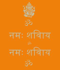 Om Namah Shivay!  http://www.keepcalm-o-matic.co.uk