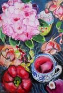 Regine Bartsch Shape And Form, Paintings I Love, Still Life, Poster, Impressionist, Ireland, Flowers, Trees, Europe
