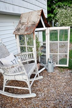 DIY window greenhous