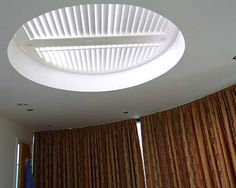 Replace skylight blinds: better / more convenient control of light / heat gain.