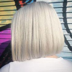 White Toner, Bleach London, White Heat, Coloured Hair, Summer Hairstyles, Hair Color, Long Hair Styles, Face, Envy