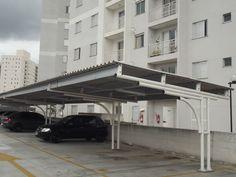 Картинки по запросу garagem para carro de zinco