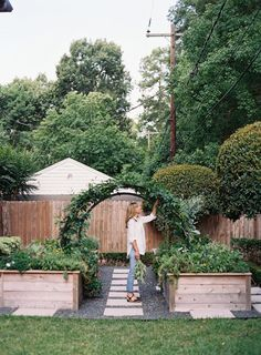 Arch Trellis, Vegetable Garden Design, Vege Garden Ideas, Garden Cottage, Garden Bar, Raised Garden Beds, Raised Beds, Garden Spaces, Dream Garden