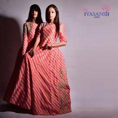 Romancing the monsoon.. #dailypost #gowns #by #vasansi #jaipur #indian #fashiondiaries #fusionwear #silk #lehariya #handcrafted #exquisite #blockprinted #gowns #handembroidered #gowns #lookyourbestin #vasansi #shoponline #shopnow http://www.vasansi.com/fusion-wear/gowns