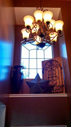 Our front door ledge decor!