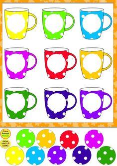 Cut and Paste Kindergarten, Preschool Worksheets Preschool Learning Activities, Color Activities, Kindergarten Worksheets, Infant Activities, Kids Crafts, Preschool Crafts, Zoo Preschool, Preschool Centers, Education And Development