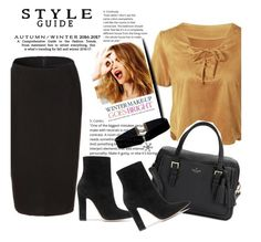 """""""Rosegal 4"""" by mell-2405 ❤ liked on Polyvore featuring Kate Spade, Gianvito Rossi, Celestine, polyvoreeditorial and winterfashion"""