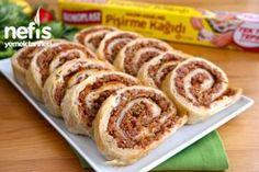 Lahmacun Böreği Tarifi - Nefis Yemek Tarifleri