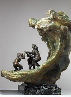 Wave, by Camille Claudel
