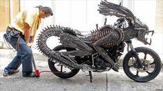 Alien motorcyle.