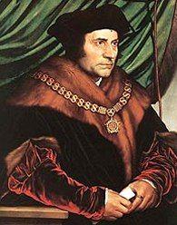 """Thomas More, protettore dei politici (Londra, 7 Febbraio 1478 – Londra, 6 Luglio 1535). """"Che io possa avere la forza di cambiare le cose che posso cambiare, che io possa avere la pazienza di accettare le cose che non posso cambiare, che io possa avere soprattutto l'intelligenza di saperle distinguere."""""""