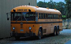 Old School Bus......Spent many hours on one of these.....The BEST of memories..
