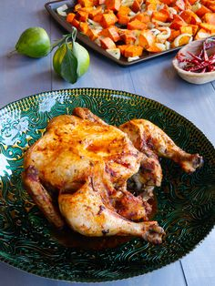 Lisa Leake's Slow Cooker Whole Chicken Recipe from the 100 Days of Real Food Cookbook @Leake100Days