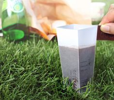 """""""Coffree"""" neat packaging... coffee pack and coffee cup in one"""