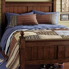 For further information and pricing: Boys Classic Plaid Bedding
