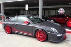 Porsche GT3-RS red