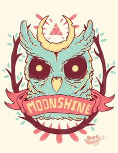 Moon~Shine by Mitsumi Flores, via Behance