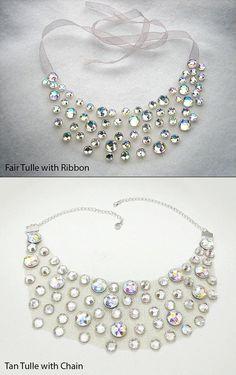 Brillante cristal AB joyería del Rhinestone por SparkleBeastDesign