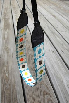 ikat bag: How To Make A Camera Strap