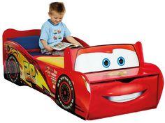 Disney Cars Bed Lightning McQueen Toddler Boy Room Baby Kids Fun Toy Furniture #Disney