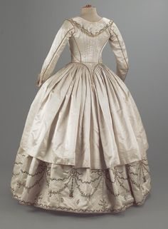 Robe paree, 1780-1790.