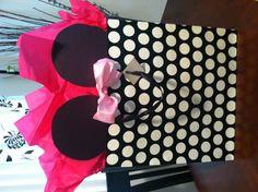 Minnie Mouse Birthday Gift Bag Idea.