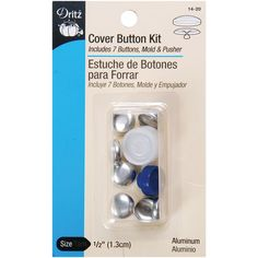 Dritz Craft Cover Button Kit Size 45   Crafts and Buttons