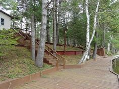 Secord Lake Waterfront Boardwalk!  3797 West Branch Drive, Gladwin, MI.