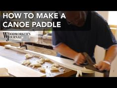 How to make a canoe paddle. Dan Cary takes you to the North House Folk School to experience their North Woods Paddle Making class.