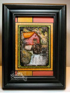 Stamps - Artistic Outpost Old Grist Mill Old Grist Mill, Stamps, Artist, Painting, Seals, Artists, Painting Art, Paintings, Postage Stamps