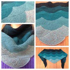 Aranami shawl
