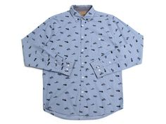 Canoes LS Button Up