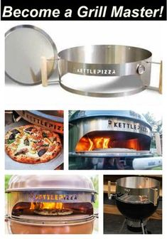 Weber Charcoal Grill Accessories: Make your Kettle Even Better! Weber Charcoal Grill Accessories: The KettlePizza transforms your kettle into a wood fired pizza oven. If you are serious about pizza then the KettlePizza is a MUST HAVE accessory. Barbecue Grill, Barbecue Recipes, Grilling Recipes, Barbecue Design, Char Grill, Charcoal Grill Smoker, Best Charcoal Grill, Wood Fired Oven, Wood Fired Pizza