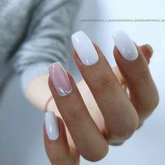 Manicure Nail Designs, Nail Manicure, Toe Nails, Chic Nails, Stylish Nails, Trendy Nails, Romantic Nails, Nagel Hacks, Nagellack Design