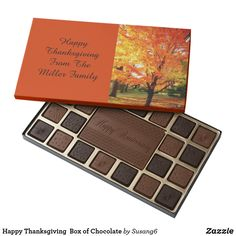 Happy Thanksgiving  Box of Chocolate