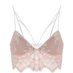 For Love and Lemons Esme Foil Lace Bralette Blossom (795 RON) ❤ liked on Polyvore featuring intimates, bras, tops, bra, lined bra, flower bra, lace bralette bra, bralette bras and blossom bra