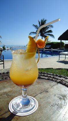 Poolside cocktails at Paraiso de la Bonita Riviera Maya!