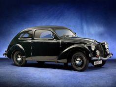 "1935 skoda rapid 2 door sedan"""