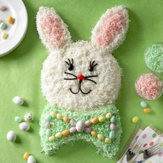 My mom used to make an easter bunny cake when we were little :)  too cute