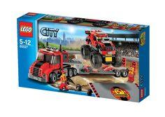 City - En la ciudad: camión de transporte gigante