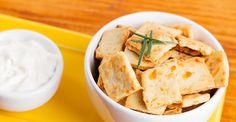 Aprenda a preparar o cracker de alecrim!