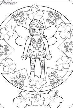 playmobil fairy coloring pages   coloring pages   fairy coloring pages, playmobil, fairy coloring