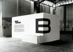 great design -- E and B on corner - EdgeBoard (Hampus Jagelund via Inspiration Lab)