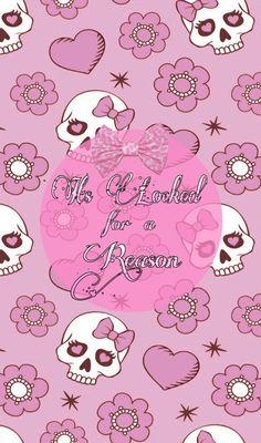 Pink Skull Wallpaper, Pretty Phone Wallpaper, Cover Wallpaper, Locked Wallpaper, Wallpaper Backgrounds, Iphone Wallpaper, Lock Screen Picture, Apple Background, Dark Paintings
