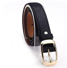2017 Belts for Women Fashion Belts Cinturones Mujer Ladies Faux Leather Metal Buckle Straps Girls Fashion Accessories Metal Belt, Metal Buckles, Belt Buckles, Leopard Belt, Brown Leopard, Leather Belt Buckle, Faux Leather Belts, Leather Jeans, White Leather