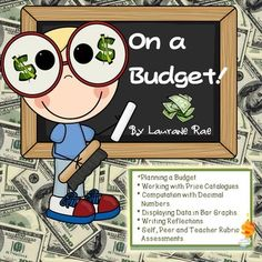 This comprehensive unit on budgeting features interactive activities to enable students to plan a budget taking into account earned income, expenses and a short-term spending goal. Content This unit comprises of the following activities: Four tasks that facilitate an understanding of what it means to budget wisely. 1.